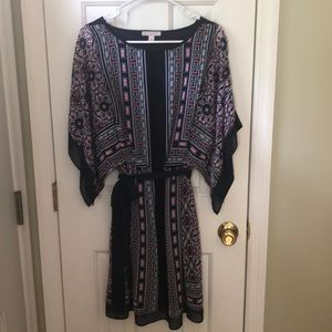 Dress barn lined scarf style  dress